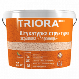 Штукатурка структурная барашек TRIORA 20 кг