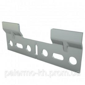 Шина-пластина для шкафов 103x33x2 mm Mesan