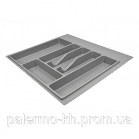Лоток для кухонных приборов Volpato 540x490 мм Серый
