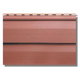 Сайдинг панель KANADA Плюс Преміум червоно-коричнева 3660х230х1,1 мм