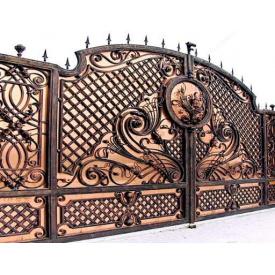 Ворота ковані ПП Брама Цезарь