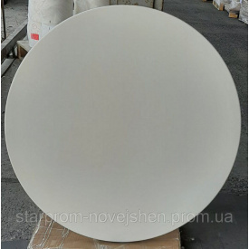 Столешница WERZALIT BY GENTAS 3101 Белая диаметр107