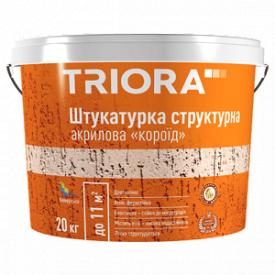 Штукатурка структурная короед 1-1,5 мм TRIORA 20 кг