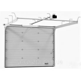 Ворота гаражные секционные Alutech Trend торсионные пружины