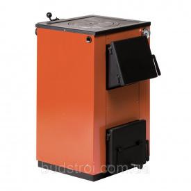 Котел на твердом топливе Макситерм 14 кВт с варочной плитой
