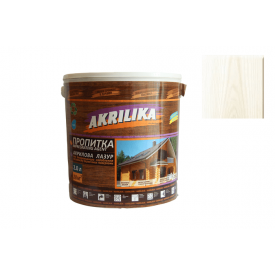 Пропитка акриловая для дерева Akrilika белая 2 л