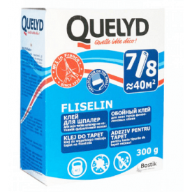 Клей для флизелиновых обоев Quelyd Fliselin 300 г