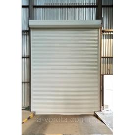 Рулонные-роллетные алюминиевые промышленные ворота Doorhan 5000х2300 мм
