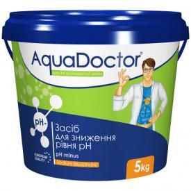 Быстрорастворимый препарат AquaDoctor pH Minus 5 кг.