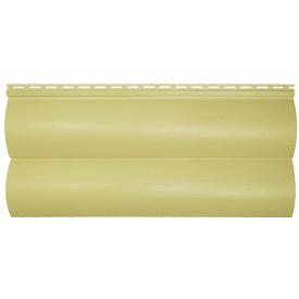 Сайдинг Слім Блок Хаус лимонний 3660х230 (мм)