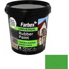 Гумова фарба Farbex світло-зелена (3.5 кг)