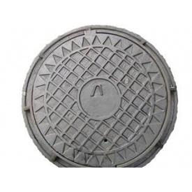 Люк каналізаційний легкий 600х70 мм