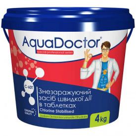 Быстрый шок хлор AquaDoctor C-60T 4 кг. в таблетках