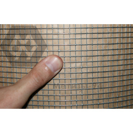 Сетка сварная 6.35х6.35х0.5 оцинкованная с повышенной защитой от коррозии ТМ Казачка для клеток