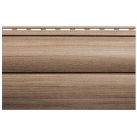 Сайдинг панель Карелія ВН-3 горіх 3000х266х1,1 мм