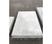 Плита тротуарная армированная 5П.7-И F200 750х500х70 мм серая