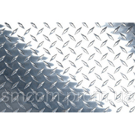 Алюмінієвий лист декор апельсинова кірка 0,45х1250х2500 мм