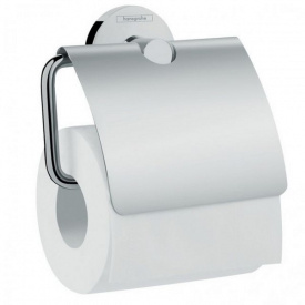 Logis Держатель туалетной бумаги с крышкой хром HANSGROHE 41723000