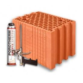Керамический блок Porotherm 25 Dryfix 373х250х249 мм