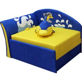 Диванчик малютка Ribeka Дельфинчик (Мечта) Желтый (02M083)