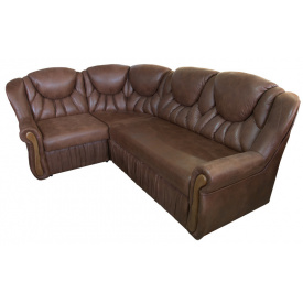Угловой диван Ribeka Луиза Темно-коричневый (02H02)
