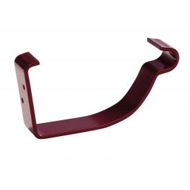 Крюк комбинированный Bilka 125/90 мм вишнево-красный (RAL 3005)