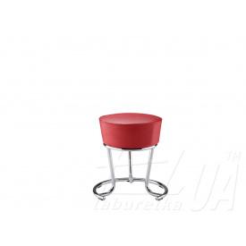 Стілець PINACOLADA chrome червоний
