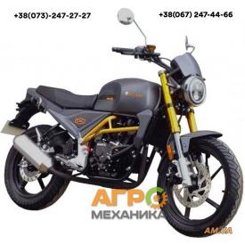 Мотоцикл FORTE FT300-CXC (черный)