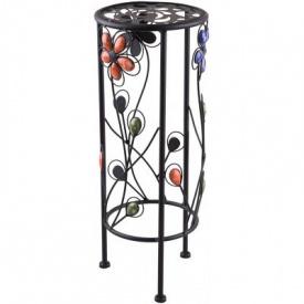 Подставка для цветов круглая Engard Каменный цветок 60 см