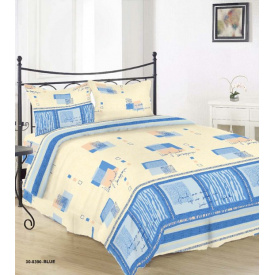 Комплект постельного белья Руно бязь 30-0390 Blue двуспальный