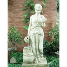 Фонтан декоративный Engard Античная дева 46х46х111 см