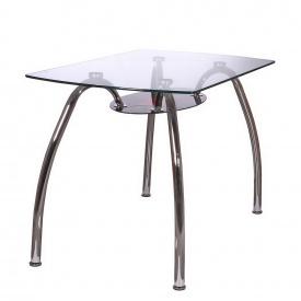 Стол AMF KSD-021T стекло/черно-красное стекло металл 1200x700x750 мм
