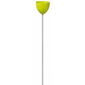 Кашпо для цветов Scheurich SkyPot пластик 16 на ножке салатовый