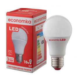 Светодиодная лампа Economka LED A60 10W E27 2800K