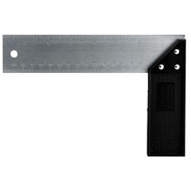 Угольник STANLEY Try & Mitre с пластмассовым основанием 200 мм (2-46-500)