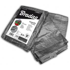 Тент BRADAS GRAY 200г тарпаулін 10х12м (PLG20010/12)