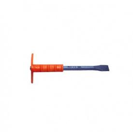 Зубило каменщика Juco с резиновой защитой 200мм (P3020)