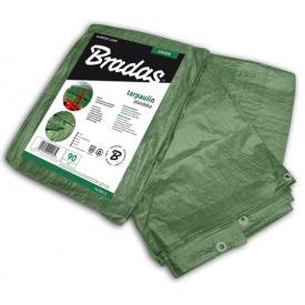 Водонепроникний Тент Bradas GREEN 90 г/м2 6х10м (PL906/10)