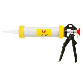 Пистолет для герметиков TOPEX 600мл (21B360)