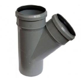 Тройник внутренней канализации Profil 75/75/45