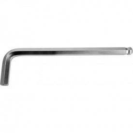 Ключ 6-гранный YATO Г-образный 2-сторонний 10мм, с шаровым наконечником (YT-05462)