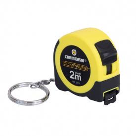 Рулетка измерительная Demass Compress mini 2мx13мм, желтая (RW 2013Y)