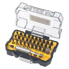 Набор бит DeWALT ITE, Phillips, Pozidriv, Torx, адаптер под головки, магнитный держатель, 32 шт (DT70560T)