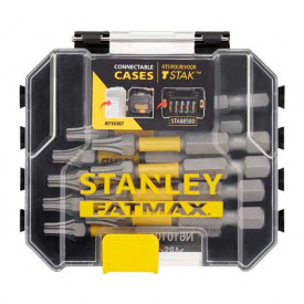 Набор бит STANLEY FatMax Torx, T20, 50 мм, 10 шт пластиковый кейс (STA88574)