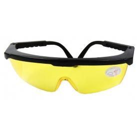 Очки защитные с рег дужками(желтые) BlackStar Safety Line 16-00016