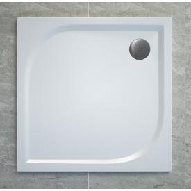 TRACY піддон квадратний 90х90 см білий SAN SWISS WAQ090004