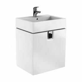 TWINS шафка під умивальник 60 см з одним ящиком білий глянець KOLO 89498000