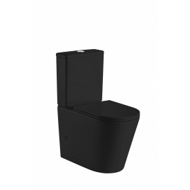 Компакт VOLLE NEMO BLACK Rimless сиденье твердое Slim slоw сlosing 13-17-377 Black
