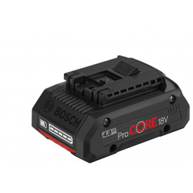 Аккумулятор BOSCH Li-Ion ProCORE18V 4,0Ah (1600A016GB)