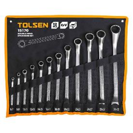 Набор ключей накидных Tolsen 12шт (15170)